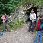 Archäologische Wanderung untere Klausenhöhle Foto: Jäger
