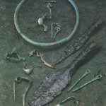 Grabbeigaben der frühkeltischen Zeit (650-450 v. Chr.) aus der Nekropole beim Burrenhof ©LAD, RP Stuttgart